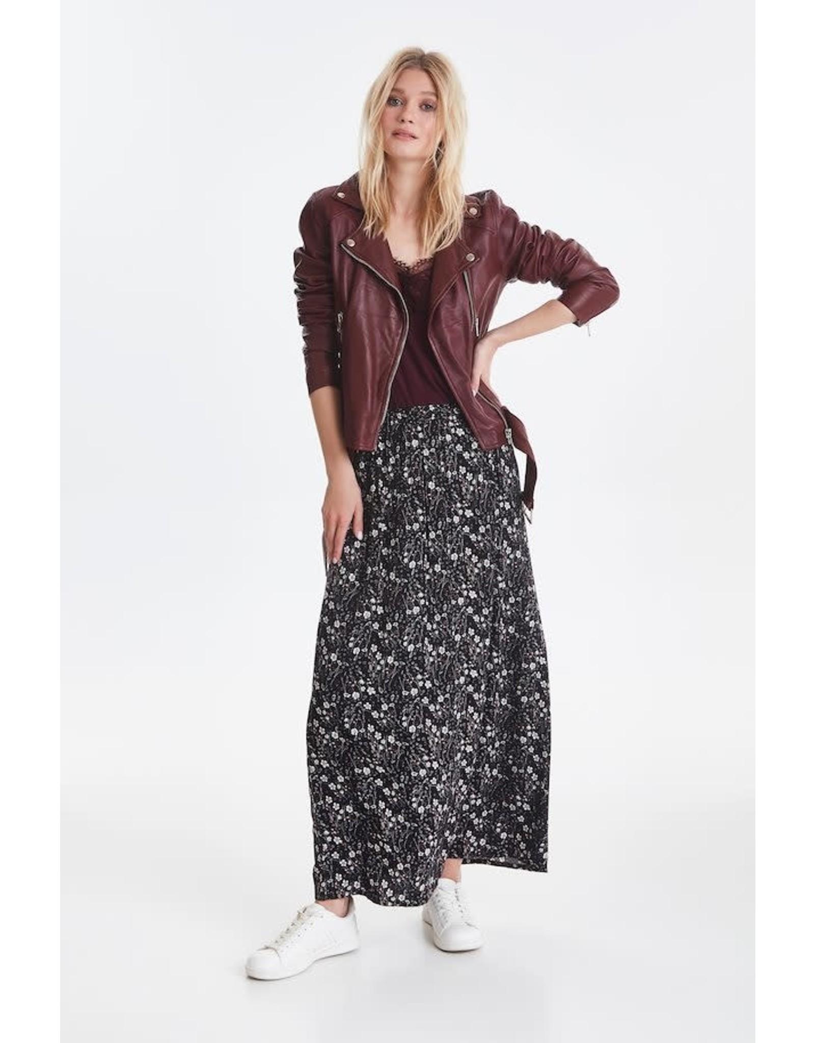 ICHI ICHI - Janella floral maxi skirt