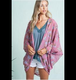 Amelie - Floral shrug kimono