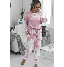 Roxy - 2 piece tie dye loungewear set (4 colours)