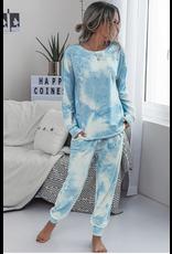 Tie Dye - 2 piece - loungewear set colours)