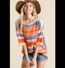 Kimora - Lightweight striped sweater