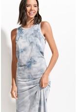 Celine - Tie dye midi dress (dove)