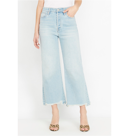 Buffalo Buffalo - Leigh wide crop denim (morning blue)