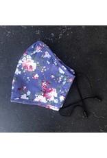 Papillon Papillon - Face mask (purple floral)