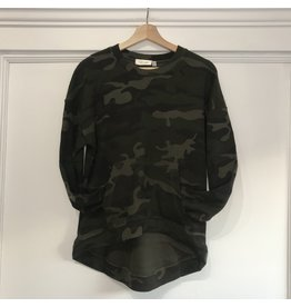 RD Style RD Style - Maddie camo pullover with pouch