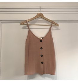 RD Style RD Style - Strappy linen tank (cloud pink)
