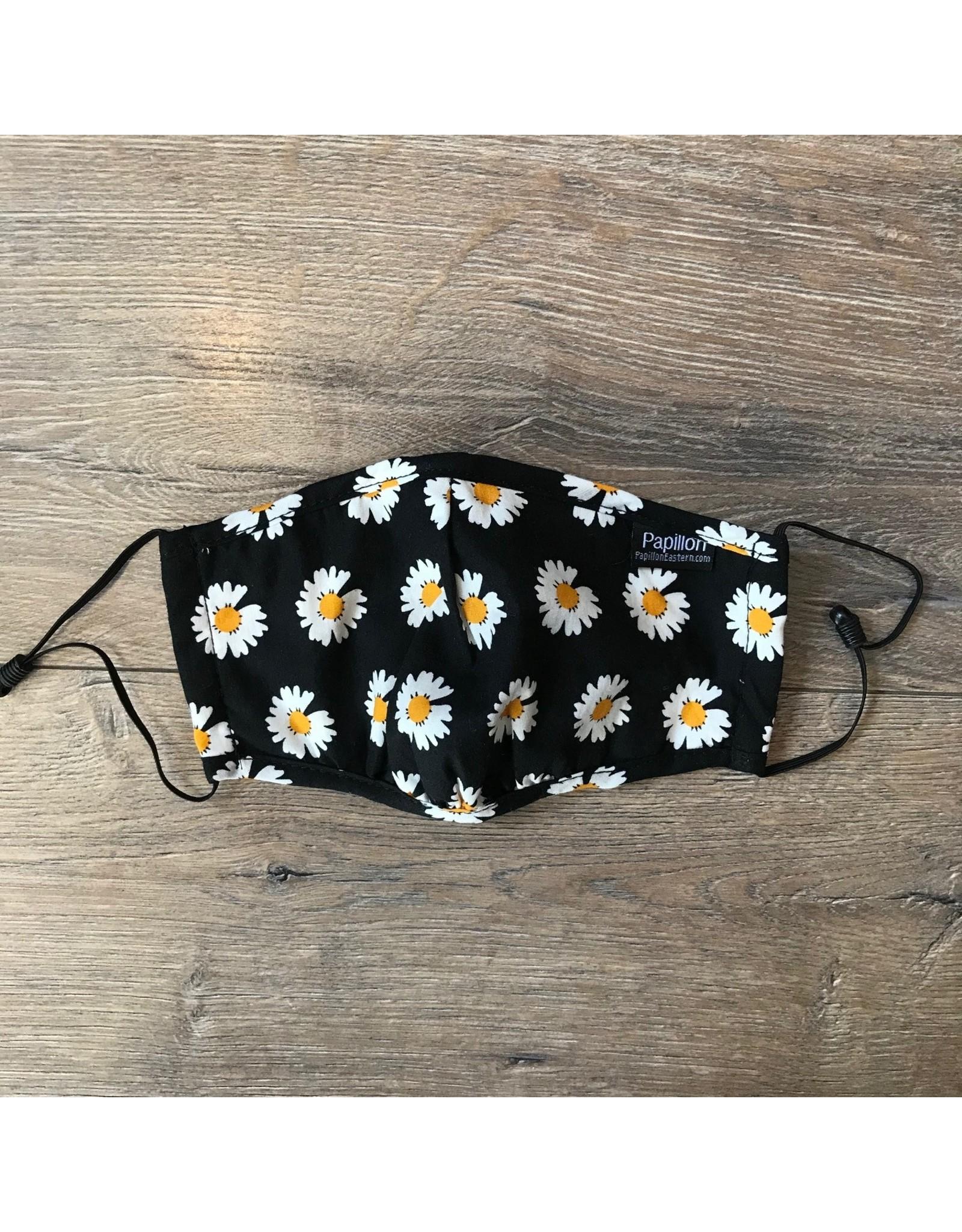 Papillon Papillon - Face mask (daisies)
