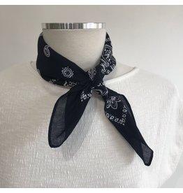 Frankie - Handkerchief bandana (navy)