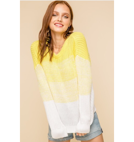 Soleil - Ombre boxy sweater
