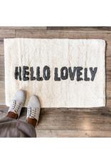 Indaba indaba - Hello Lovely bath mat