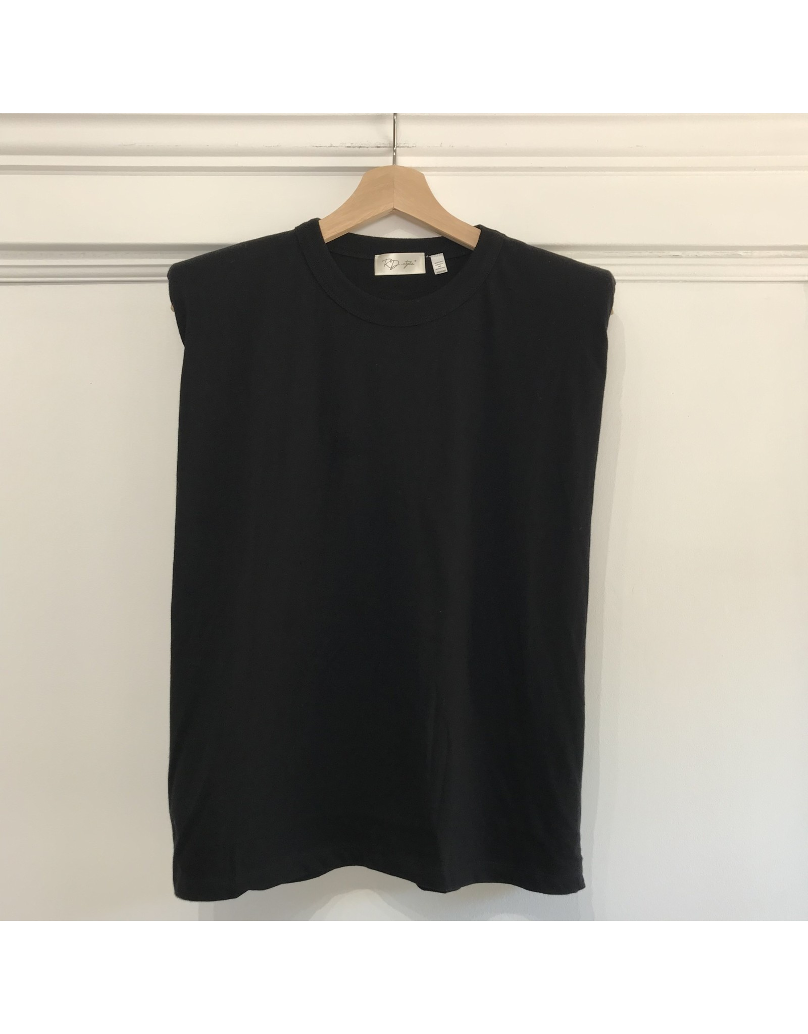 RD Style RD Style - Jessy straight shoulder tee (black)