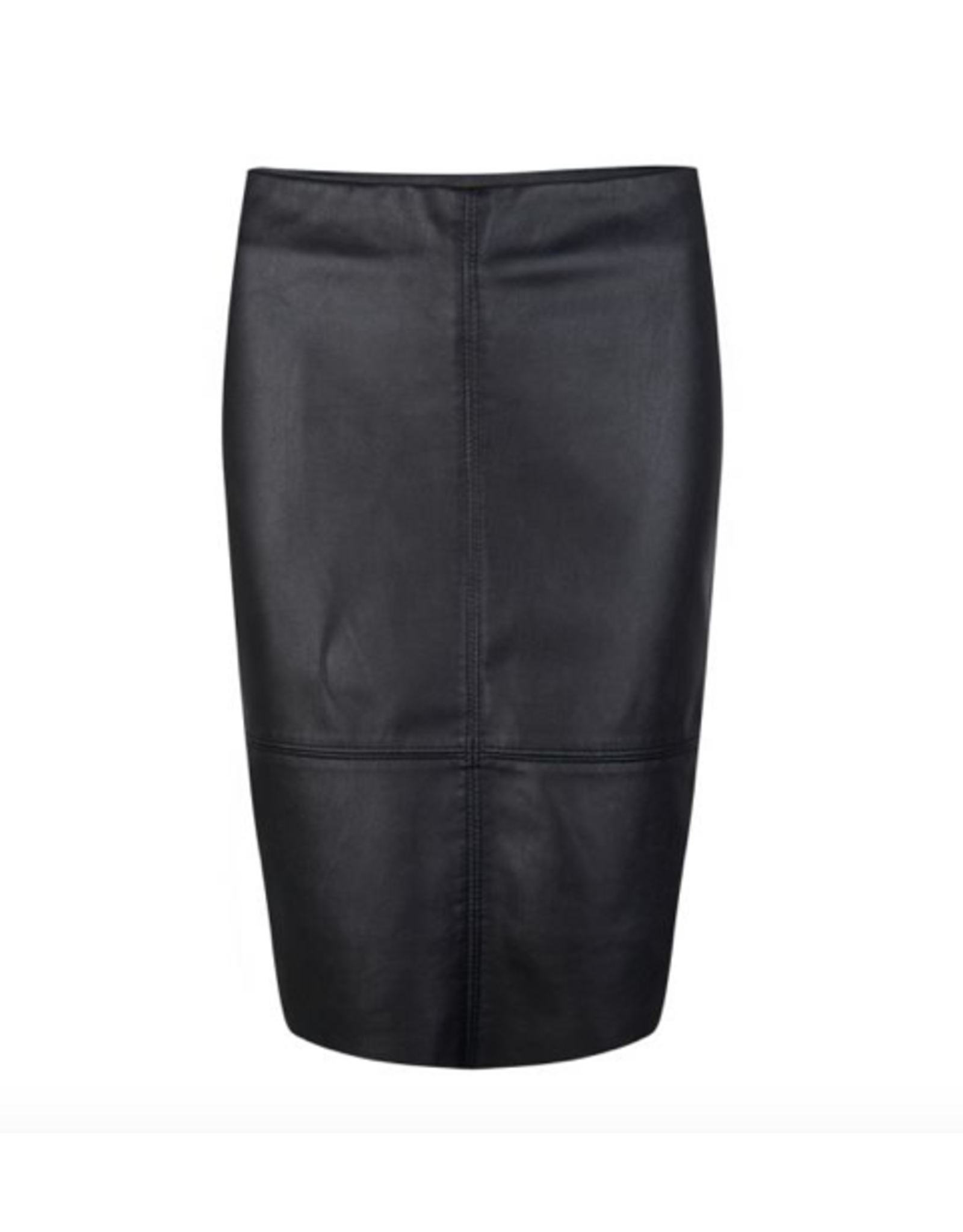 EsQualo EsQualo - PU pencil skirt