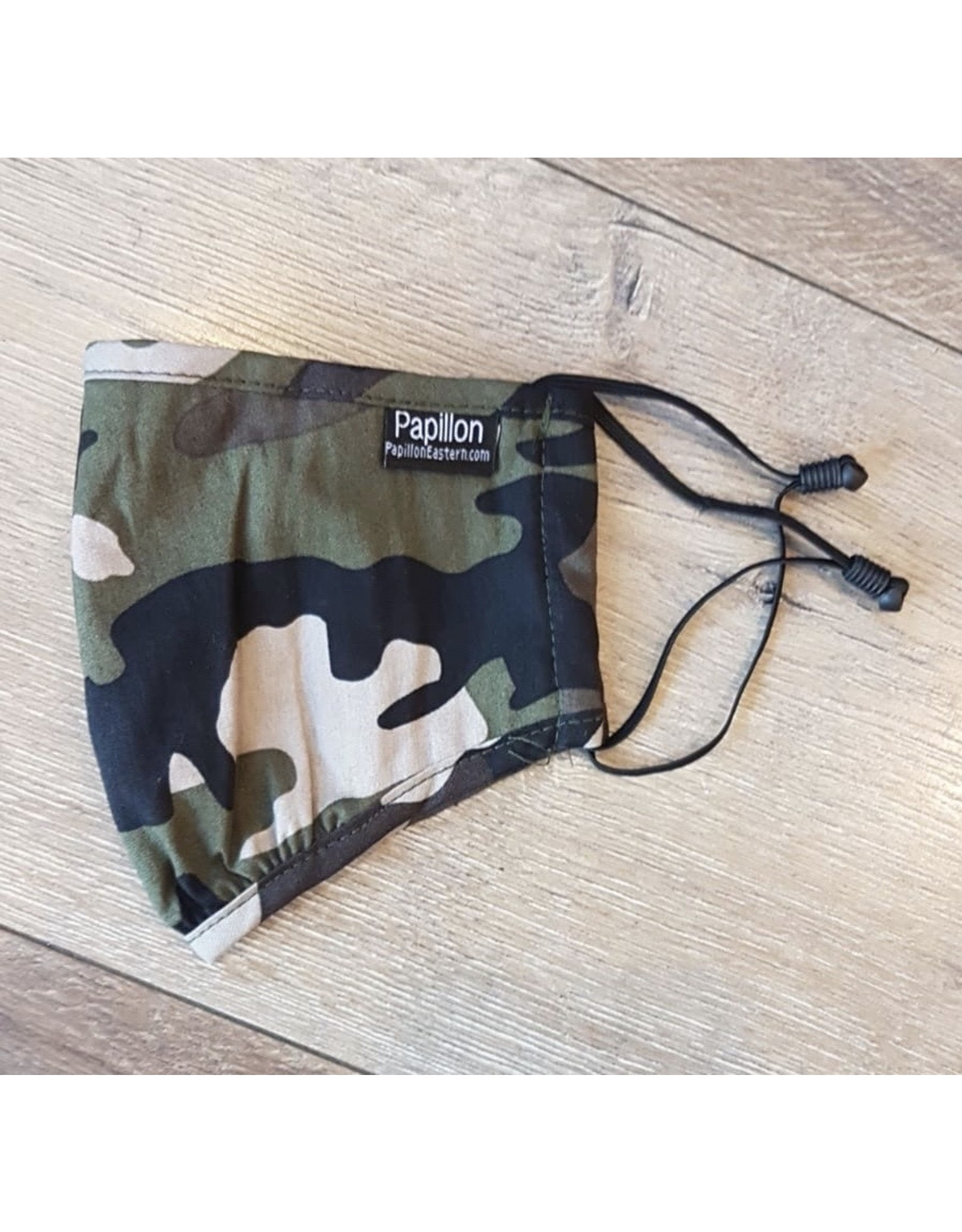 Papillon Papillon - Face mask (camo cotton)