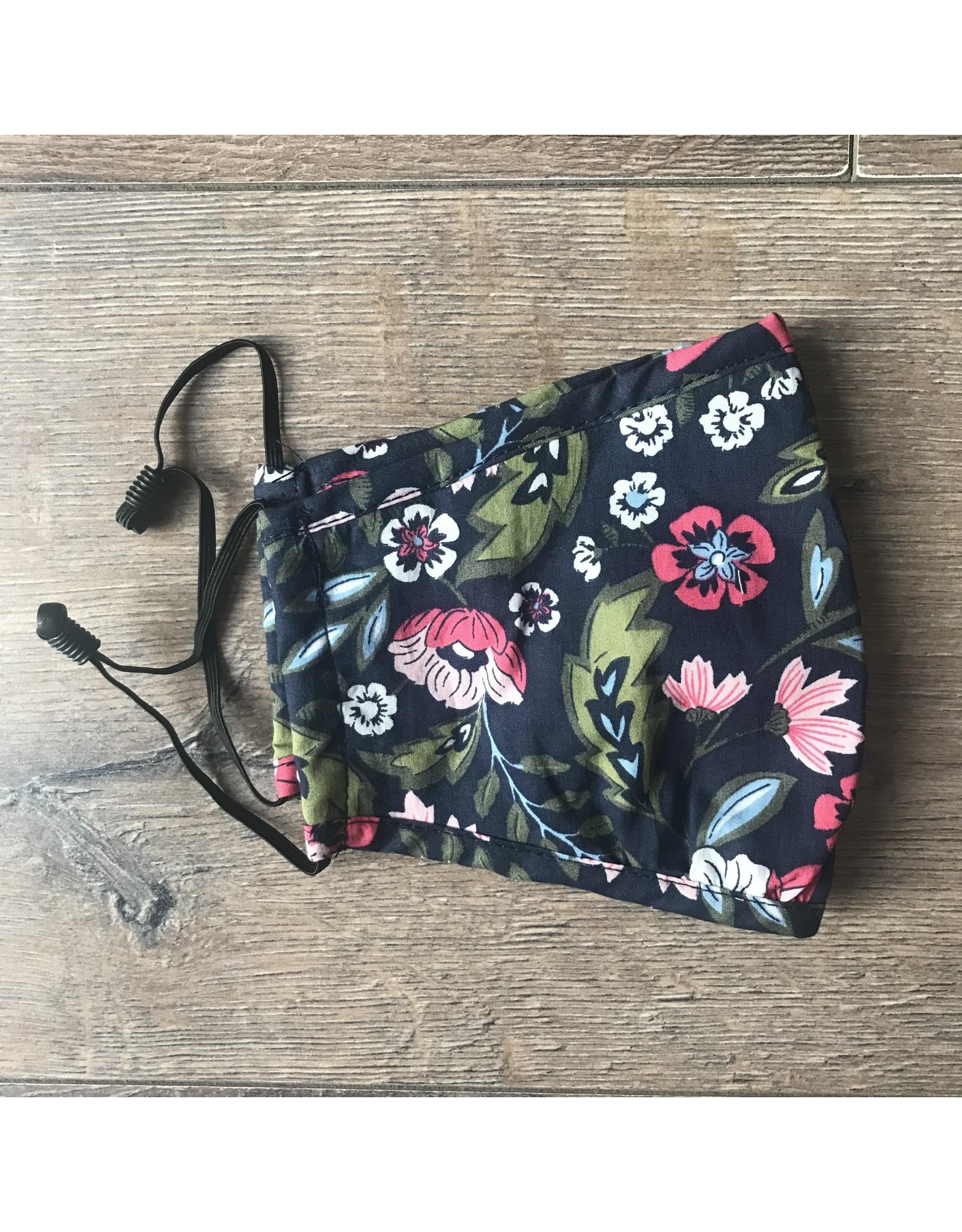Papillon Papillon - Floral cotton mask