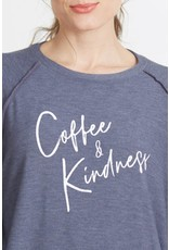 good hYOUman good hYOUman - Mary Beth pullover - Coffee and Kindness