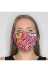 Papillon Papillon - Face mask (bright floral)