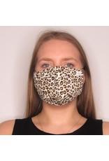 Papillon Papillon - Face mask (beige leopard)