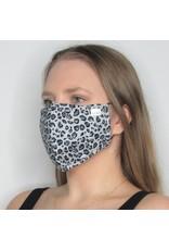 Papillon Papillon - Face mask (grey leopard)