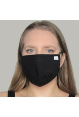 Papillon Papillon - Face mask (solid black)