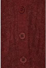 ICHI ICHI - Kamara cropped cardigan (burnt henna)