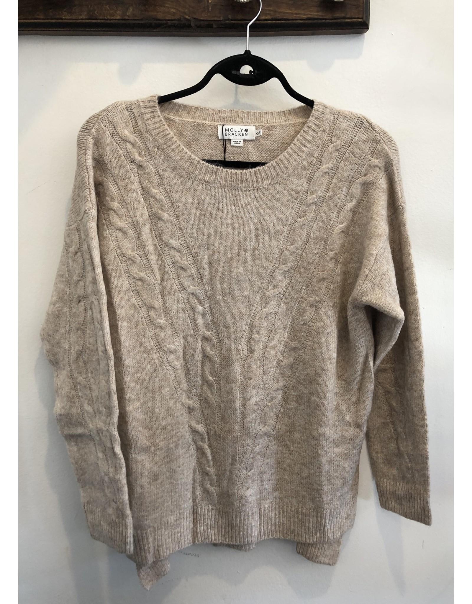 Molly Bracken Molly Bracken - Knit sweater (beige)