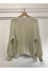 See U Soon See U Soon - Ivory sweater
