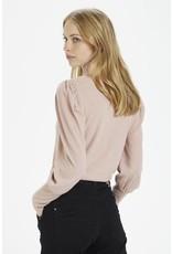 Cream Cream - Meisa rollback sweater (adobe rose)