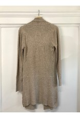 Papillon Papillon - Cardigan with ribbed back (taupe)