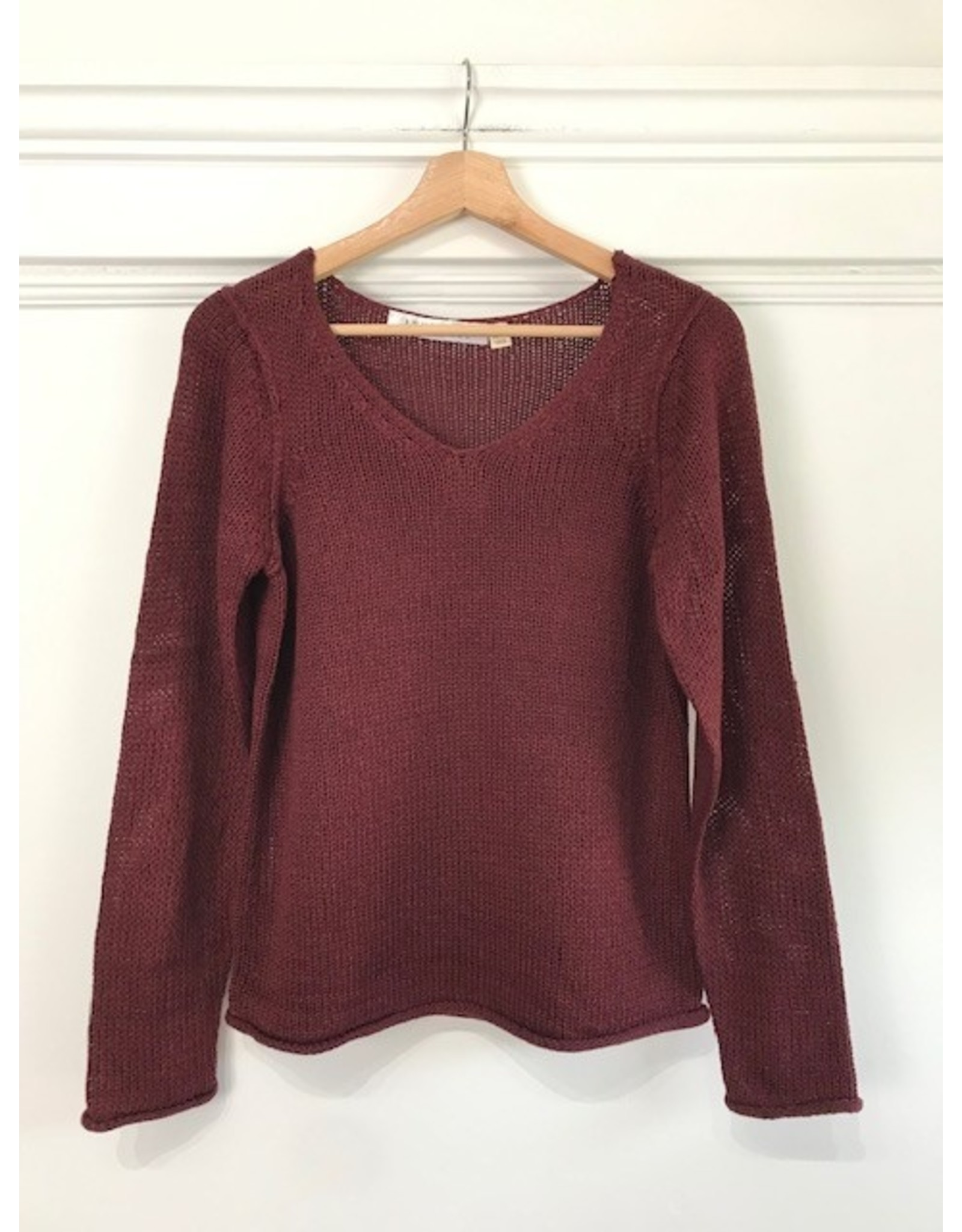 RD Style RD Style - Rolled hem sweater (port)