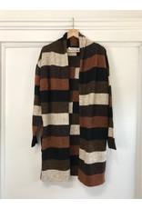 RD Style RD Style - Multi stripe cardigan (brown)