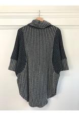 Papillon Papillon - Soft panel sweater (navy)