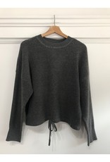 Luna Blue Luna Blue - Cashmere feel sweater (grey melange)