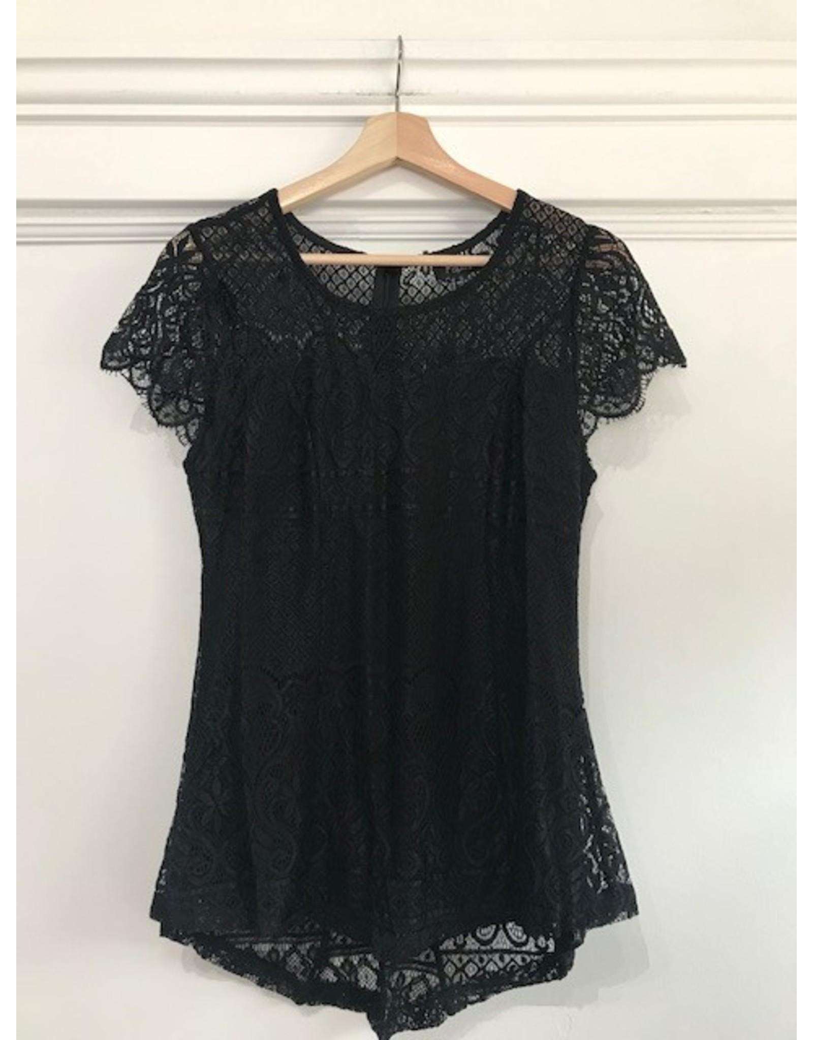 Papillon Papillon - Short sleeve peplum blouse