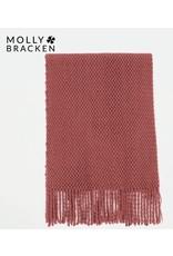 Molly Bracken Molly Bracken -  Knit scarf (terracotta)
