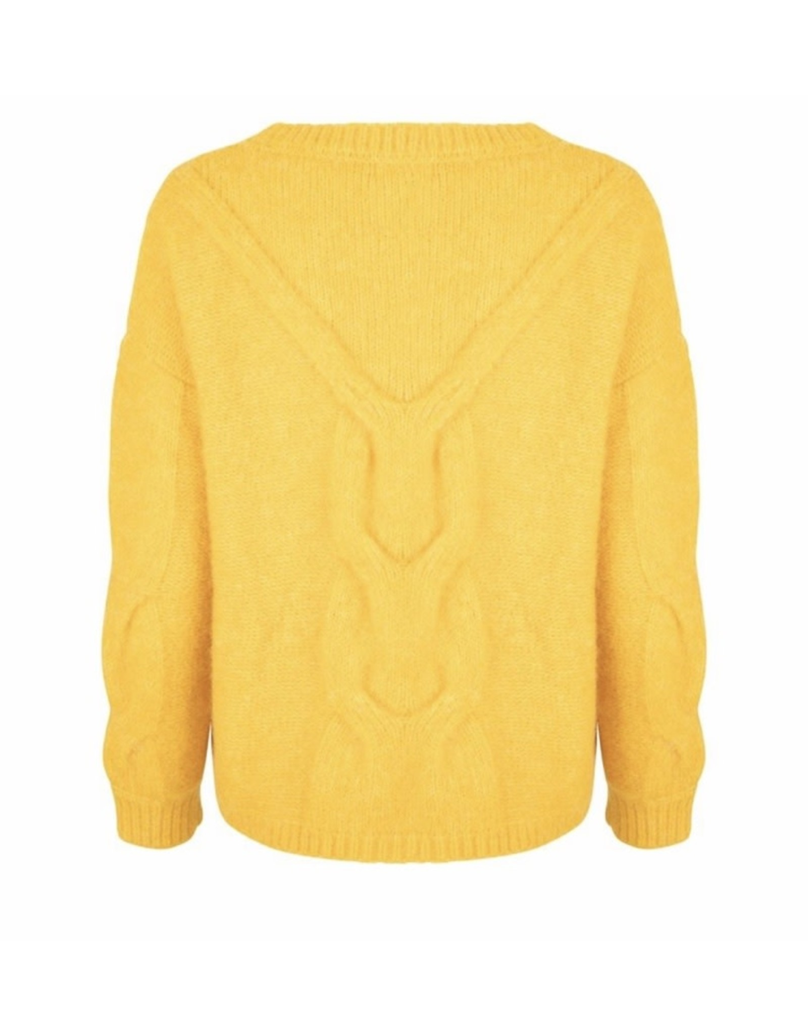 EsQualo EsQualo - Cable stitch sweater