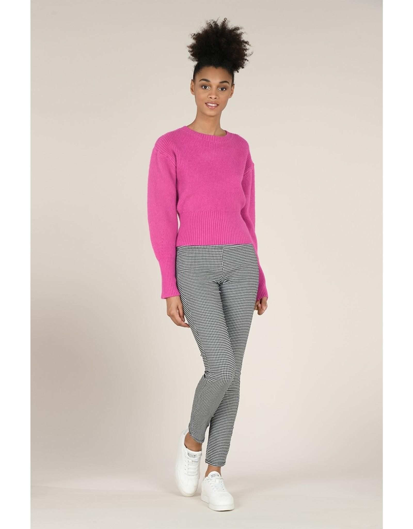 Molly Bracken Molly Bracken - Bubblegum pink cropped sweater