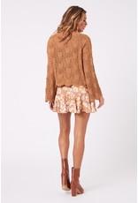 Mink Pink Mink Pink - Wynn knit sweater (tan)