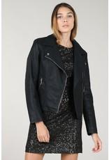 Molly Bracken Molly Bracken - Faux leather jacket (black)