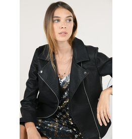 Molly Bracken Molly Bracken - Faux leather jacket (black)