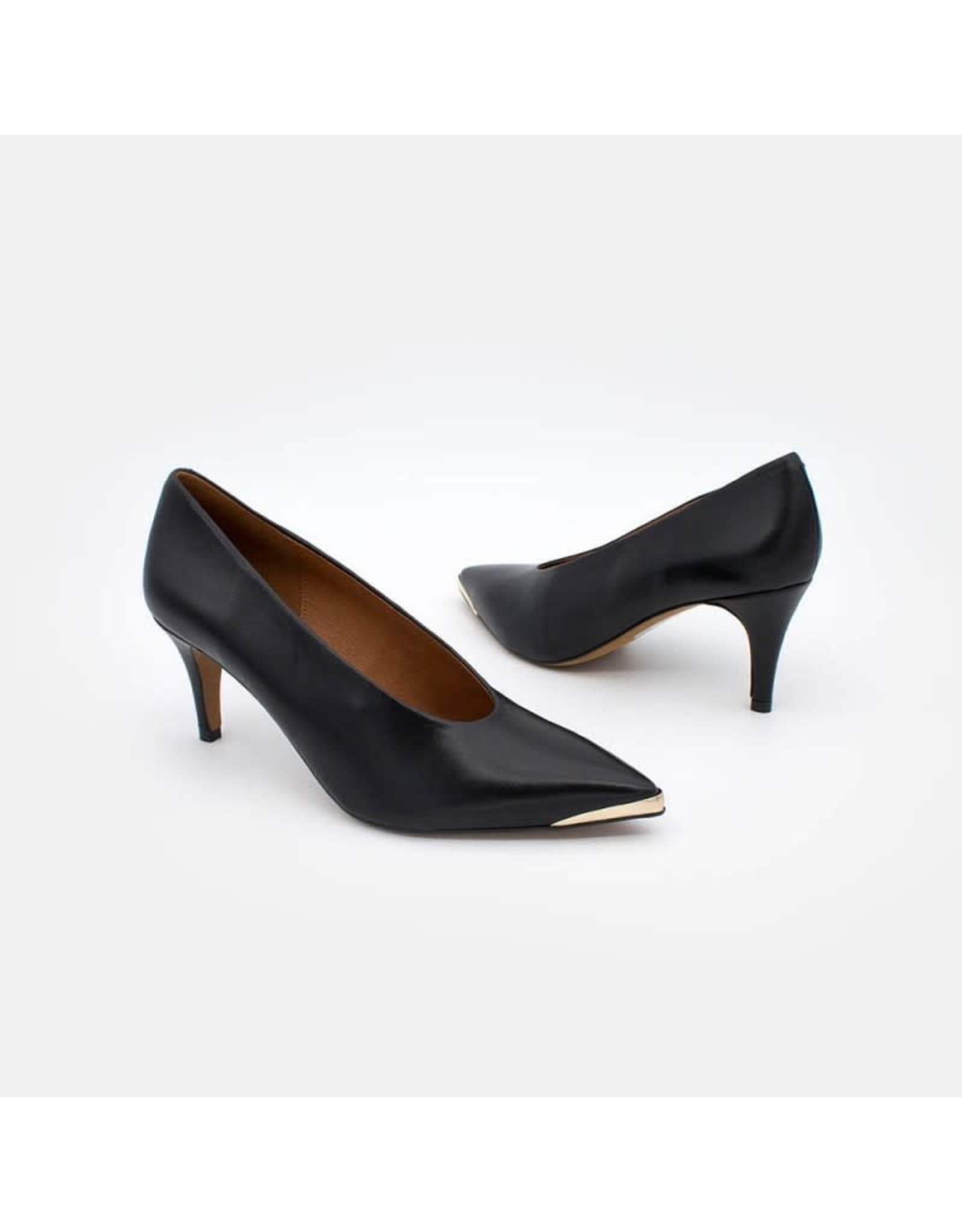 Angel Alarcon Angel Alarcon - BOHOL - Leather Stiletto with medium heel & metal toe