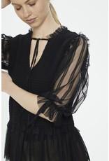 Cream Cream - Saja short sleeve  blouse (pitch black)