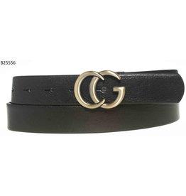 Medike Landes Medike Landes - Gwenn black leather belt