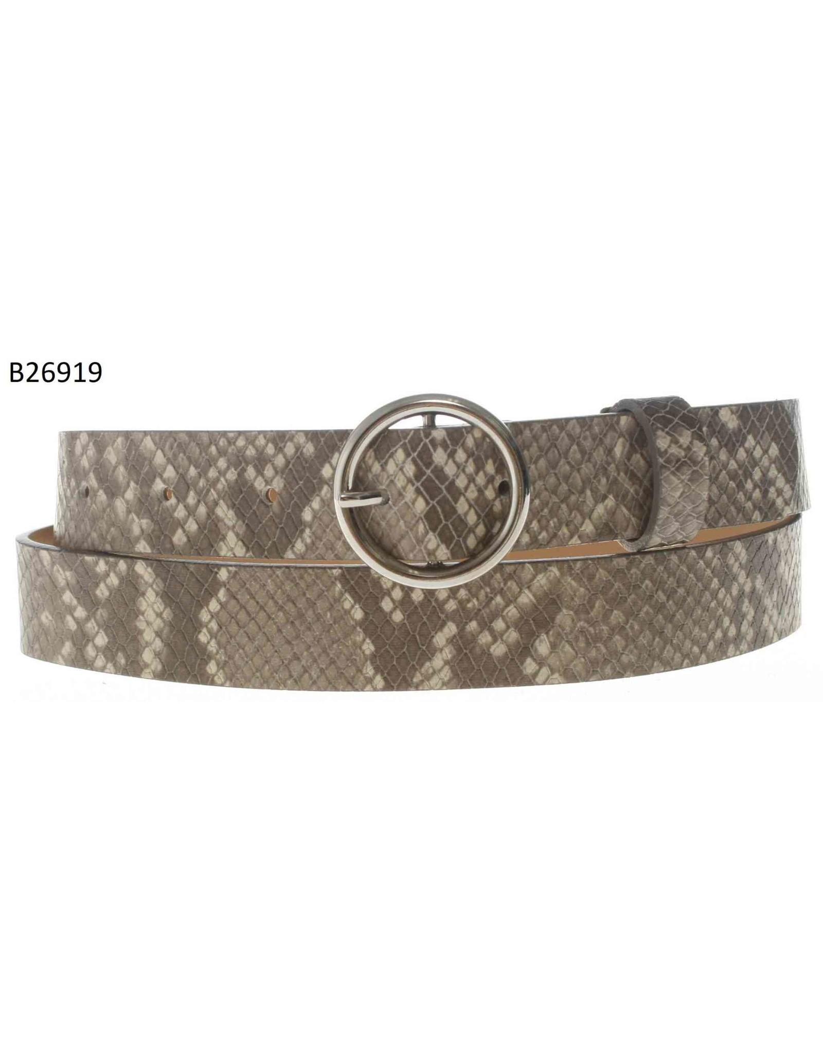 Medike Landes Medike Landes - Cali snake print leather belt