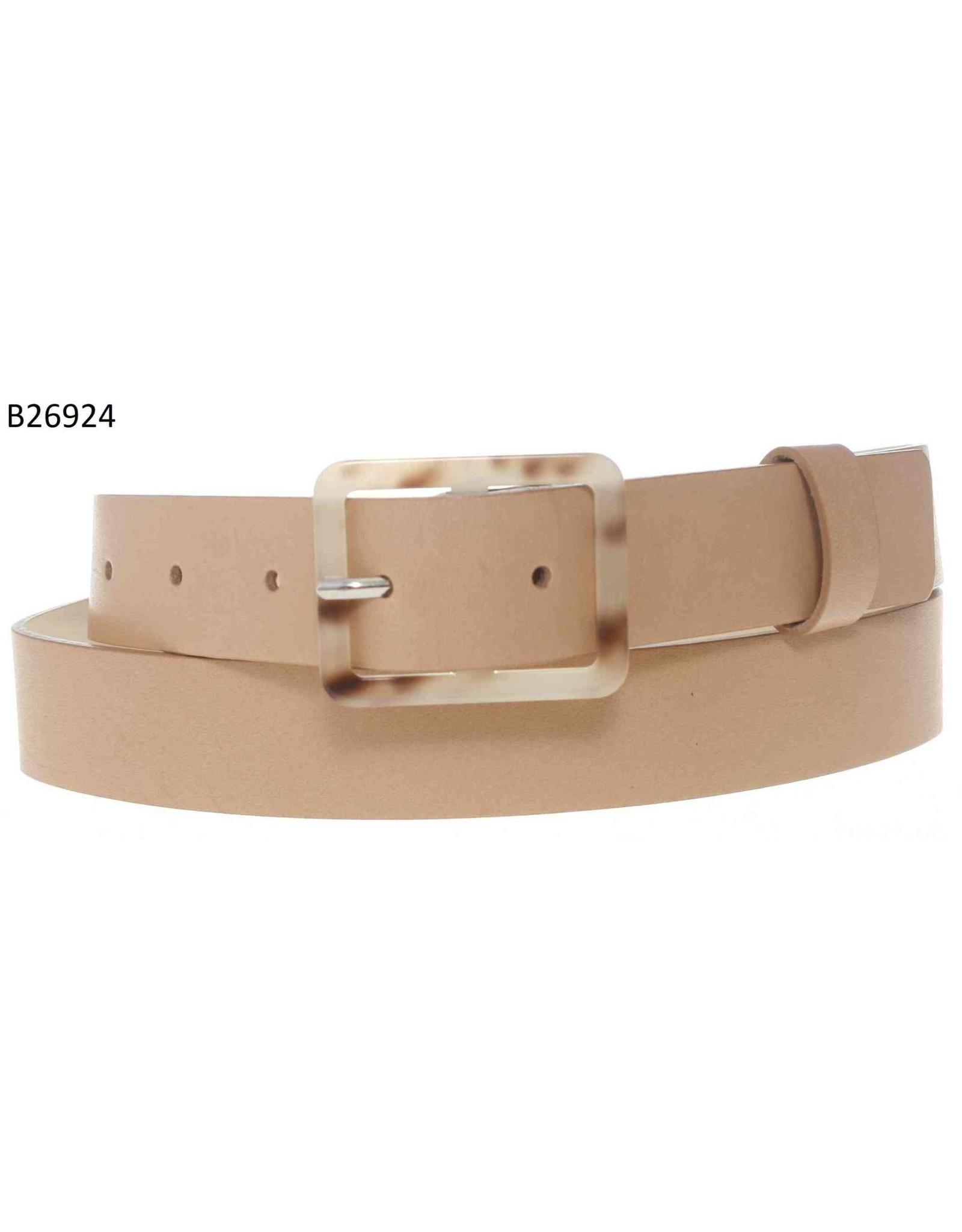 Medike Landes Medike Landes - Gigi tan leather belt