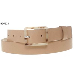Medike Landes Medike Landes - Gigi tan leather belt