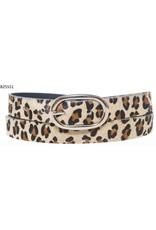 Medike Landes Medike Landes - Emily leopard print leather belt