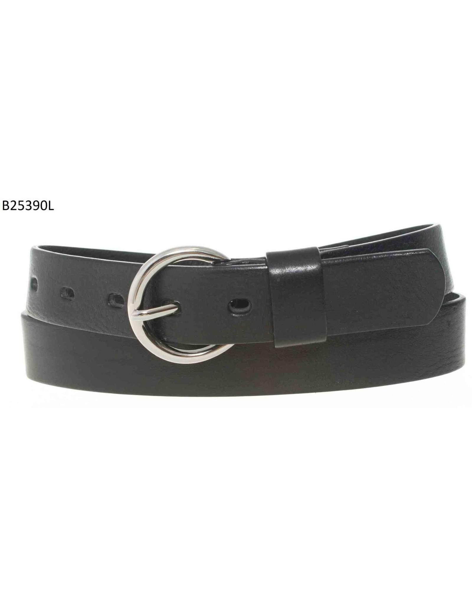 Medike Landes Medike Landes - Keenan black leather belt