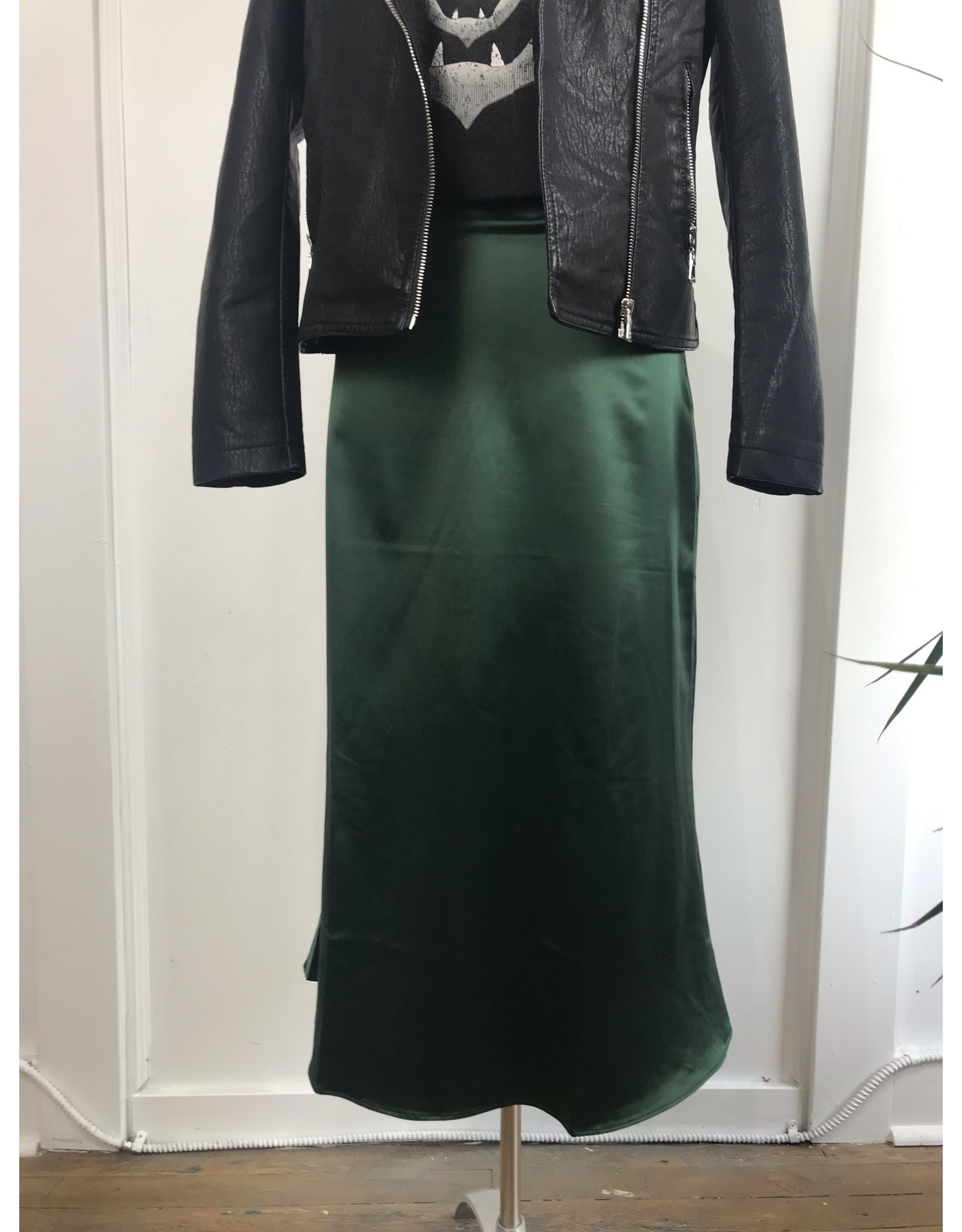AngelEye AngelEye - Paige satin skirt (emerald)