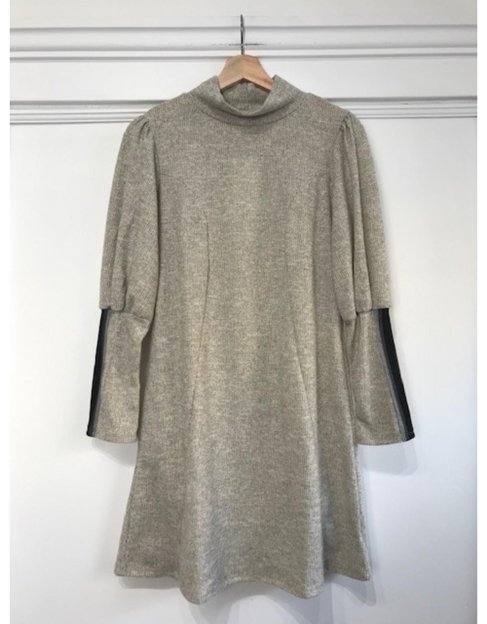 Papillon Papillon - Mock neck sweater dress