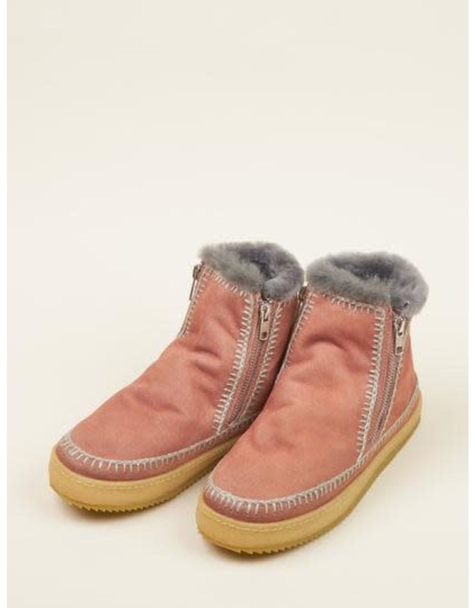 laidback london Laidback London - Setsu crochet (dusty pink / grey)